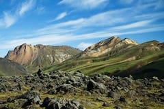 Landmannalaugar mountains, Iceland. Southern Europe stock photo