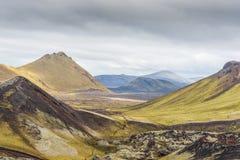 Landmannalaugar na Iceland obraz royalty free
