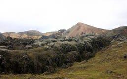 Landmannalaugur, montanhas Islândia, Europa Imagens de Stock