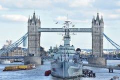 landmark Видеть места Лондона моста башни Стоковая Фотография
