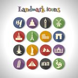 landmark illustration stock