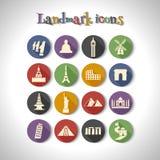 landmark stock illustrationer