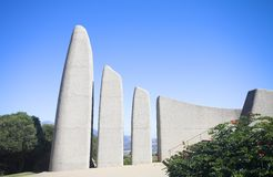 Landmark of the Afrikaans Language Monument. Famous landmark of the Afrikaans Language Monument in Paarl, Western Cape, South Africa Stock Images