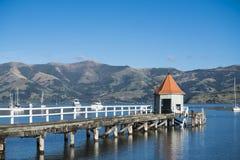 The landmark of Akaroa Royalty Free Stock Photo
