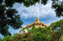 Landmark of Bangkok city Temple Bangkok, Asia Thailand.  Stock Photography