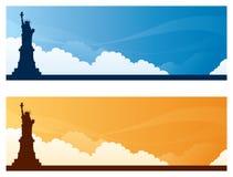 Landmark Banners - NewYork Royalty Free Stock Photo