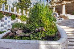 Landmark Barcelona Gaudi Royalty Free Stock Photography