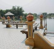 Landmark of Bonaparte buddha park Stock Images
