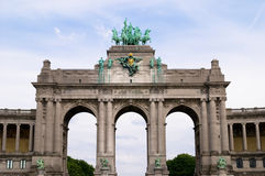 Landmark of Brussels Royalty Free Stock Photo