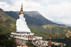 LandMark Buddhism. Temple of Thailand's major tourist attractions Stock Images