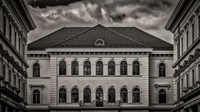 Landmark, Building, Black And White, Classical Architecture royalty free stock photography