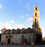 Landmark building churches in Havana Stock Image