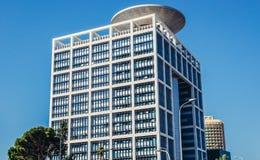 Landmark building in Tel Aviv Stock Images