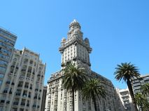 Landmark, Building, Tower, Sky Stock Images