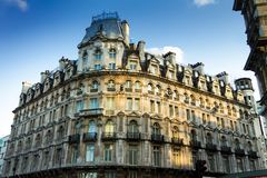 Landmark buildings near Trafalgar square royalty free stock photo