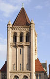 Landmark Center Tower. Tower of Landmark Center building in downtown Saint Paul Minnesota stock photo