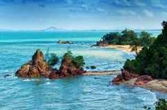 Landmark of Cherating Beach Royalty Free Stock Photo