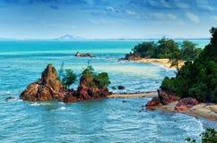 Landmark of Cherating Beach Royalty Free Stock Photo