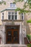 Landmark Church Facade and Entry Royalty Free Stock Photography
