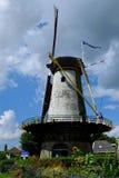 Landmark Dutch windmill Stock Photos