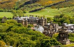 Landmark of Edinburgh - Holyrood Palace Stock Images