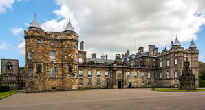 Landmark of Edinburgh - Holyrood Palace Royalty Free Stock Images