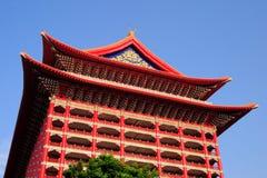 Landmark the grand hotel in taipei,taiwan. Stock Images