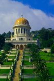 Landmark of Haifa Shrine of the Bab royalty free stock photos