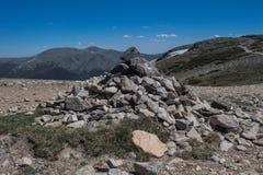 Landmark for hiking Royalty Free Stock Photos