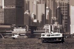 Landmark of Hong Kong Stock Photo