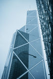 Landmark of Hong Kong. Bank of China,the financial business center,landmark of Hong Kong Stock Photography