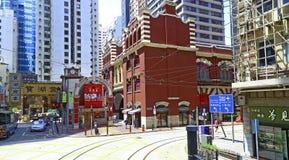 Landmark of hong kong : western market Royalty Free Stock Photography