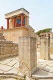 Landmark of Knossos Stock Photos