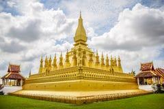 Pha That Luang stock image