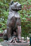 Landmark Lioness Stock Images