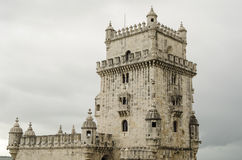 Landmark in Lisbon Royalty Free Stock Photos
