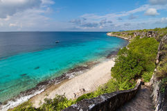 A landmark location on Bonaire, Caribbean. Royalty Free Stock Photos