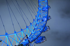 Landmark London Eye in UK Stock Photography