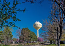 Landmark in Meridian Idaho iconic water tower Royalty Free Stock Image