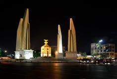 Landmark in the night Bangkok Stock Photography