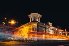 Landmark, Night, Town, Sky stock photo
