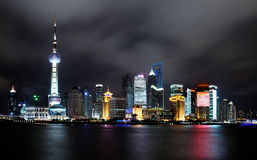 Landmark Of Shanghai China Royalty Free Stock Photography