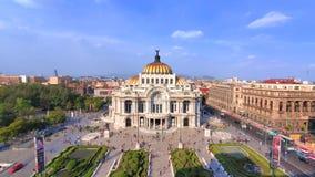 Landmark Palace of Fine Arts Palacio de Bellas Artes in Alameda Central Park near Mexico City Historic Center Zocalo