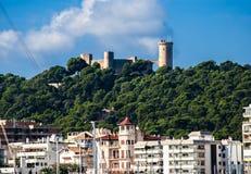 Sao Jorge - old castle Stock Photos