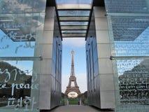 landmark paris royaltyfri bild