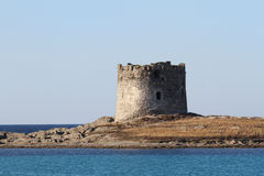 Landmark of Pelosa tower. The Pelosa tower is a tower that is part of the complex of fortified structures that, from the Middle Ages until the mid-nineteenth stock photo