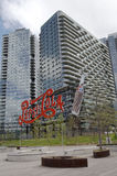 Landmark Pepsi Cola sign in Long Island City Stock Photos