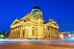 Landmark of Petersburg, St. Isaac's Cathedral Royalty Free Stock Photo
