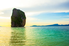 Landmark at Poda island, Krabi Province, Andaman Sea, Royalty Free Stock Image