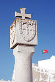 Landmark of Portuguese Discoveries. At Sagres fortress Stock Photography